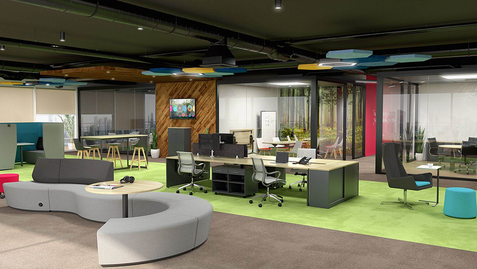 Spaceler's Top 5 Essential Office Interior Design Tips for Business Leaders